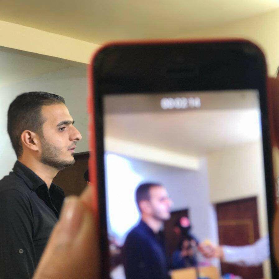 صورة الأستاذ حيدر وليد